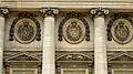 P1010235 Picardie, Compiègne, détail des médaillons à l'initiale de Napoléon sur la façade principale du château qui a été remisen état par Napoléon 1er (8380273541).jpg
