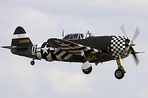 P47 Snafu - Flying Legends 2012 - Duxford - Explored -) (7467941960).jpg