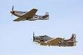 P51 & A6 - Duxford FLying Legends July 2009 (3710804261).jpg