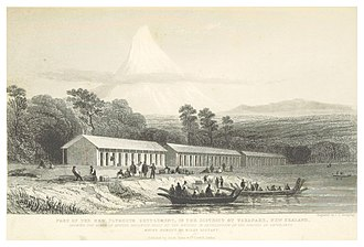 New Zealand Company ships - New Plymouth in 1842