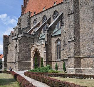 Strzegom Place in Lower Silesian Voivodeship, Poland