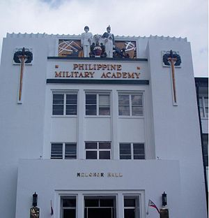 Tagalog: Melchor Hall, Philippine Military Aca...