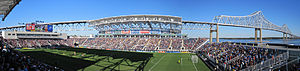 Talen Energy Stadium - Image: PPL Park Interior from the Southwest Stands 2010.10.02