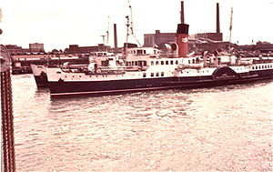 Isle of Wight ferry services - In Portsmouth in 1969