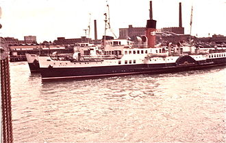 PS Ryde - 1969 at Portsmouth.