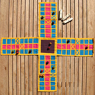 Pachisi Board game that originated in medieval India