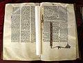 Padova, biblia sacra con glosse, 1283-85, pluteo 3 dx 9, 01.jpg