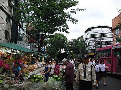 How to get to ปากคลองตลาด with public transit - About the place