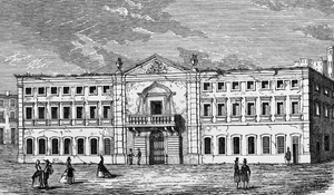 Estaus Palace - Baroque-style Inquisition Palace before burning in 1836.
