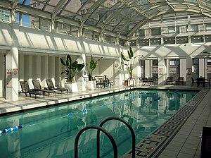 Palace Hotel swimming pool, San Francisco, Cal...