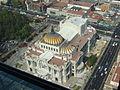 Palacio de Bellas Artes desde la torre Latino.JPG