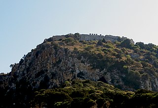 castle near Pylos, Greece