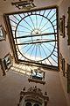 Palau del marqués de Dosaigües, claraboia de pati d'entrada o de la font.JPG