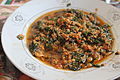 Palava sauce w- cocoyam leaf (5612472154).jpg