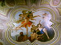 Palazzo fenzi, sala 1, sebastiano ricci, tela sul soffitto, amore punito 02.JPG