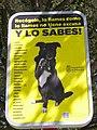Palencia - Aviso canino con instrución lexicográfica.jpg
