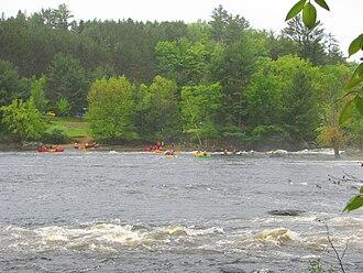 Brudenell, Lyndoch and Raglan - Image: Palmer Rapids