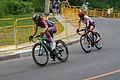 Panam Games 2015 Women's Road Race - Breakaway Group (19817882188).jpg