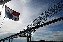 Panama flag and bridge.jpg