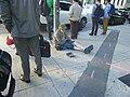 Panhandler, York and Front, 2014 09 26.jpg