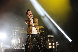 Dick Clark's New Year's Rockin' Eve - Panic! at the Disco rehearsing for their performance for the Allstate Fan Fest in New Orleans, which was featured during New Year's Rockin' Eve 2017.