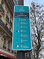 Panneau Itinéraire Vélo Voie Jaune Rue St Antoine - Paris IV (FR75) - 2021-01-03 - 2.jpg