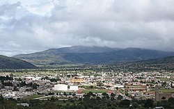 The town and municipal seat of Tlaxco