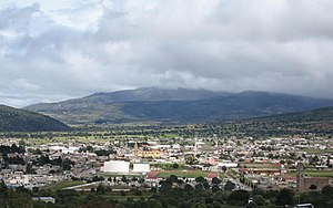 Tlaxco Municipality, Tlaxcala - The town and municipal seat of Tlaxco