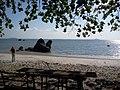 Pantai Romodong, Belinyu, Bangka Belitung, Sore, Menanti Sunset - panoramio.jpg
