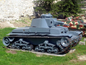 Panzer 35(t) - Panzer 35(t) at the Belgrade Military Museum.