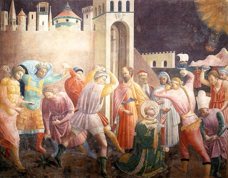 File:Paolo Uccello - Stoning of St Stephen - WGA23196.jpg