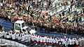 Papstbesuch Deutschland 2011 Olympiastadion Papst im Papamobil.jpg