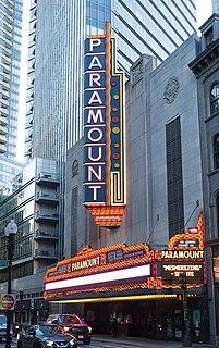 Paramount Theatre (Boston, Massachusetts) Historic theater in Boston, Massachusetts