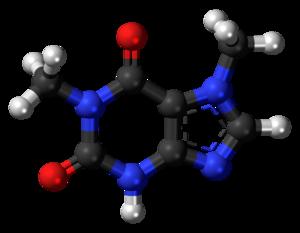 Paraxanthine - Image: Paraxanthine 3D ball