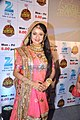Paridhi Sharma at launches of 'Jodha Akbar'.jpg