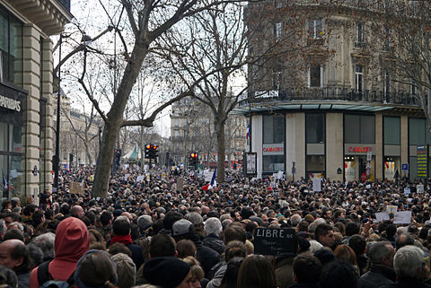 Paris Rally, 11 January 2015 - Rue du Temple - 01.jpg