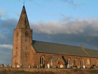 Newbiggin-by-the-Sea - The 13th century Parish Church of St Bartholomew, Newbiggin-by-the-Sea