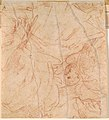 Parmigianino - Verso Middle Section of a Seated Figure with a Putto Supporting a Globe, ca. 1529-1530.jpg