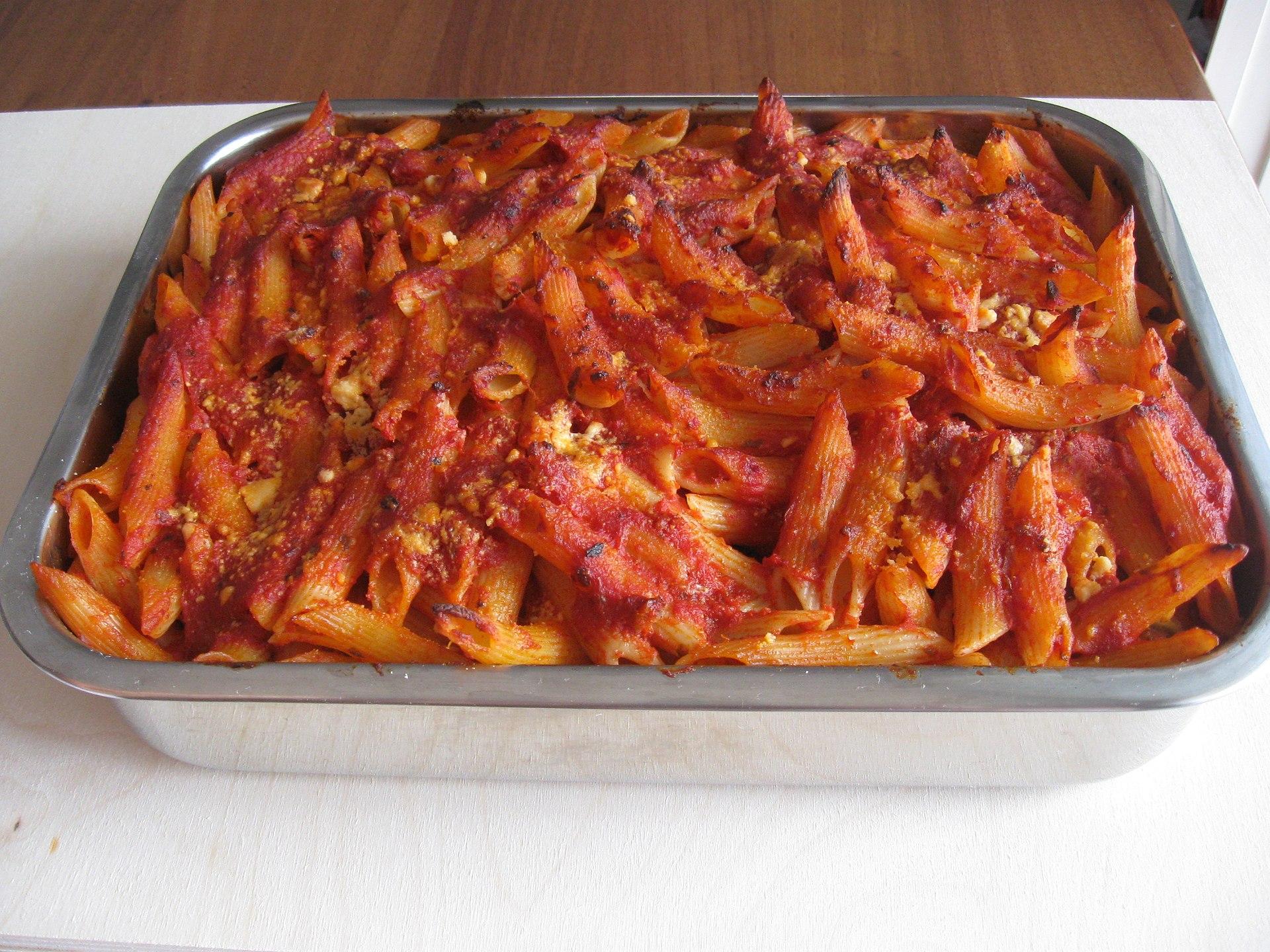 Pasta al forno wikipedia for Piatto della cucina povera