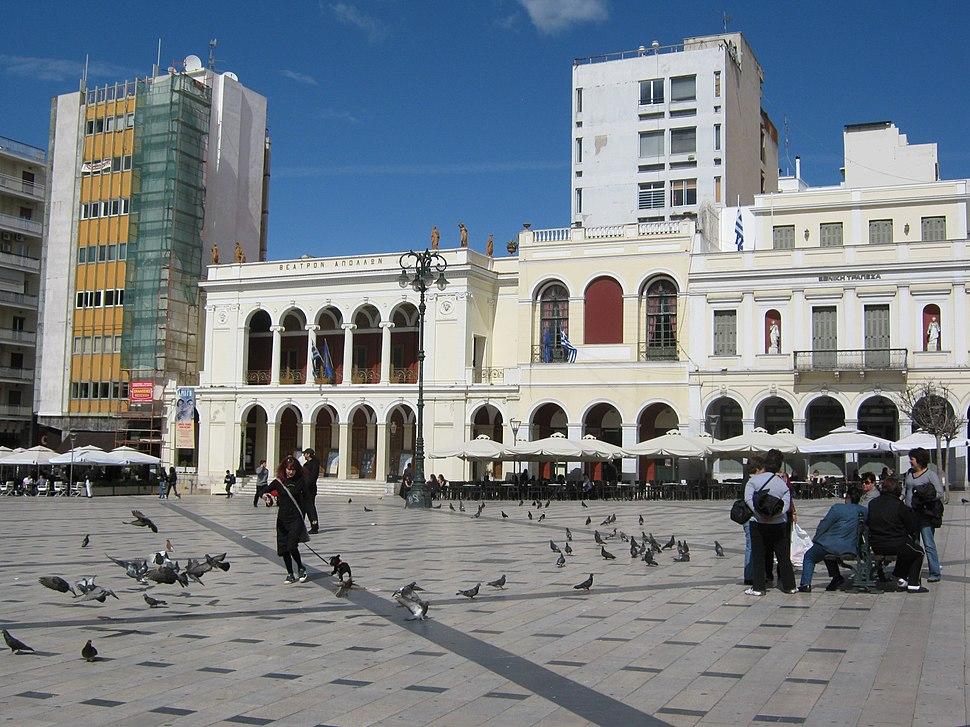 Patras square - panoramio