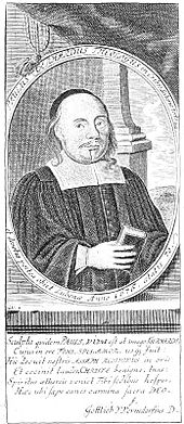 Paul Gerhardt, Kupferstich aus dem 17. Jahrhundert (Quelle: Wikimedia)