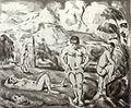 Paul Cézanne- The Bathers (Large Plate).jpg