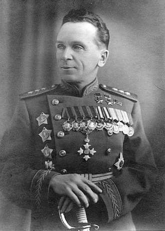 North Western Operational Command - Postwar photo of Colonel-General Pavel Ivanovich Batov