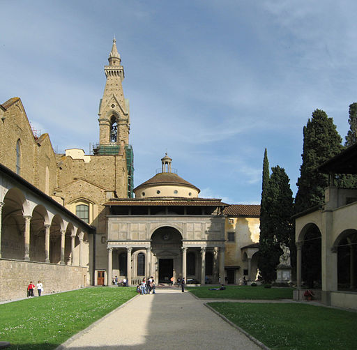 Pazzi Chapel Santa Croce Apr 2008 P