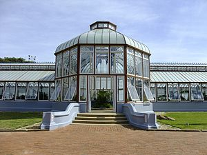 St George's Park, Port Elizabeth - The Pearson Conservatory in the park