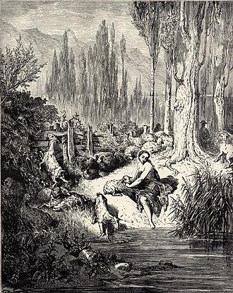 Donkeyskin - Illustration by Gustave Doré
