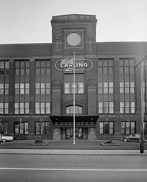 Carling Black Label - The converted auto factory in 1965