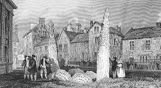 Penrith, Cumbria - The Giant's Grave in 1835.