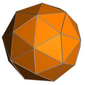 Small triambic icosahedron - Image: Pentakis dodecahedron