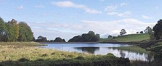 Pen-y-cae, Wrexham - The Pen-y-cae Upper Reservoir